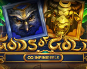 Gods of Gold InfiniReels slot logo