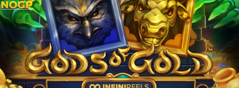 Gods of Gold InfiniReels slot logo