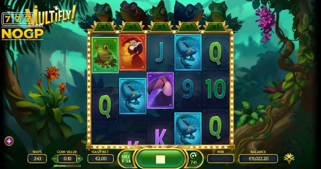 Yggdrasil's MultiFly! video slot