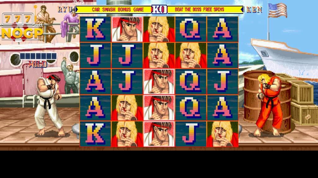 Streetfigher II main game