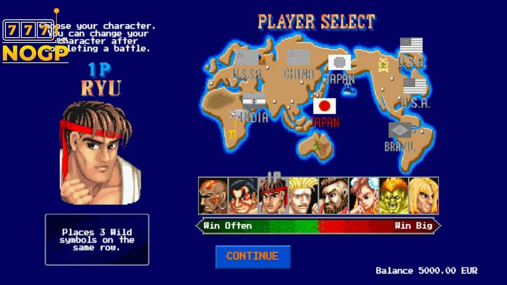NetEnt's Streetfigher 2 slot