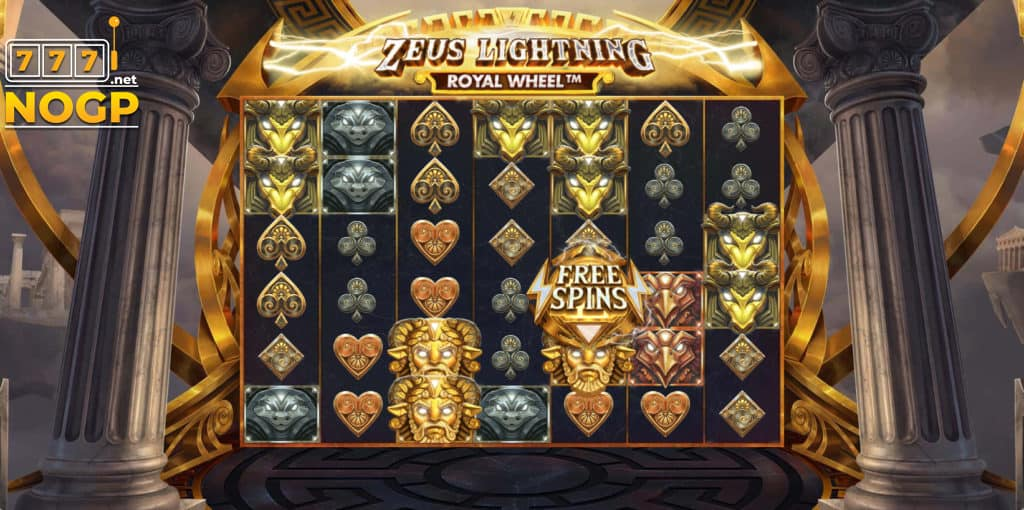 Red Tiger's Zeus Lightning Power Reels slot