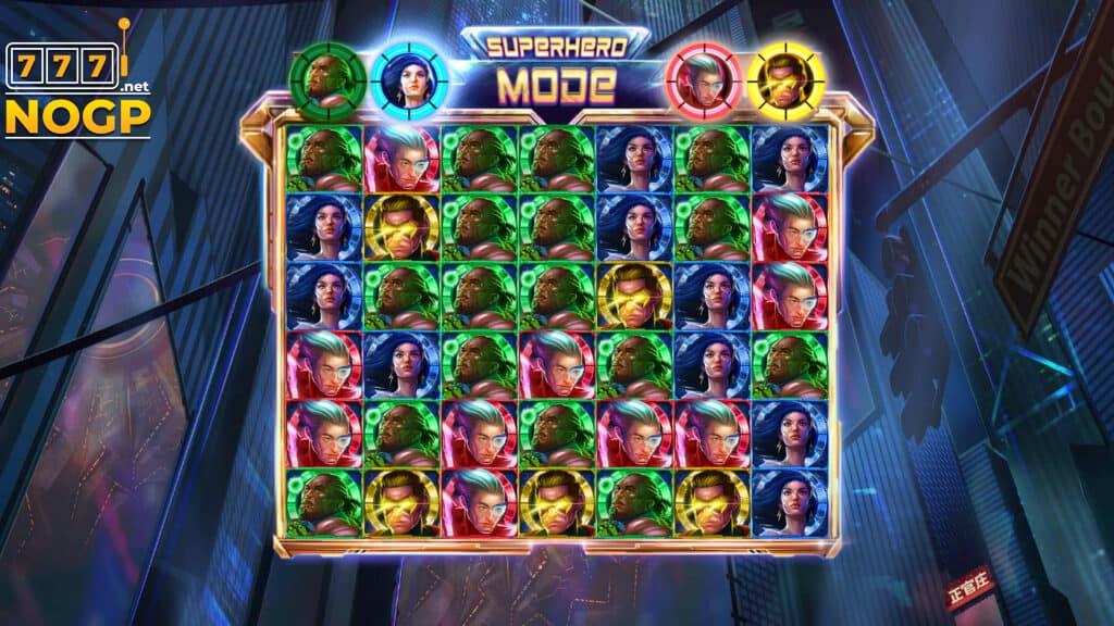 4Squad slot Superhero mode