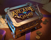 Arcane Gems video slot logo