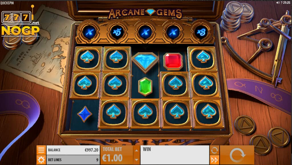Quickspin´s Arcane Gems slot