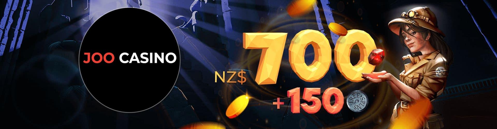 Joo Casino Bonus New Zealand