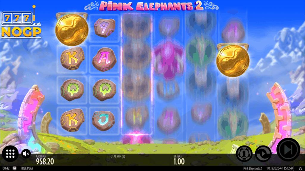 Pink Elephants 2 slot screenshot