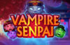 Vampire Senpai video slot logo