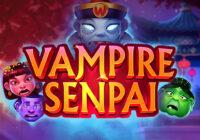 Vampire Senpai video slot logo