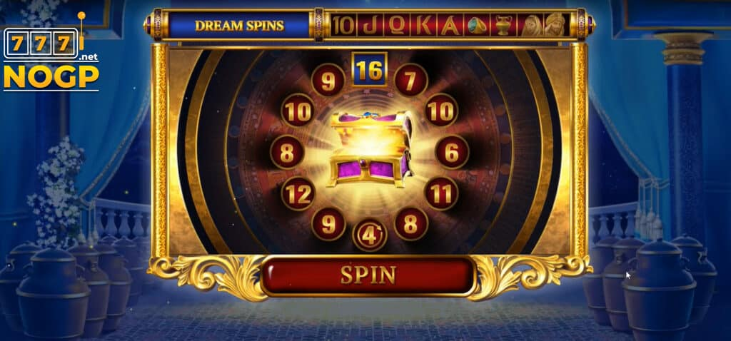 Ali Baba's Luck video slot lucky round