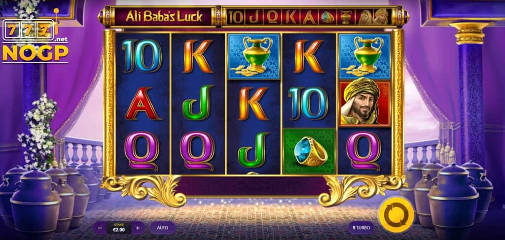 Ali Baba's Luck video slot screenshot