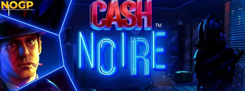 Cash Noire video slot logo