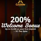 A 200% bonus awaits you at Casimba Casino.