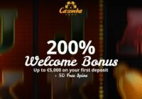 Er ligt een bonus van 200% op u te wachten bij Casimba Casino.