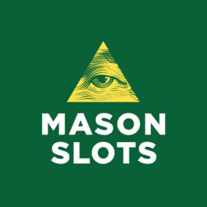Mason Slots Casino logo round