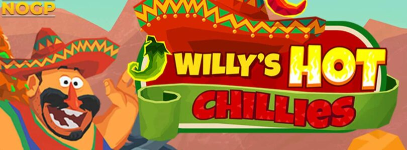 Willys Hot Chillies video slot logo