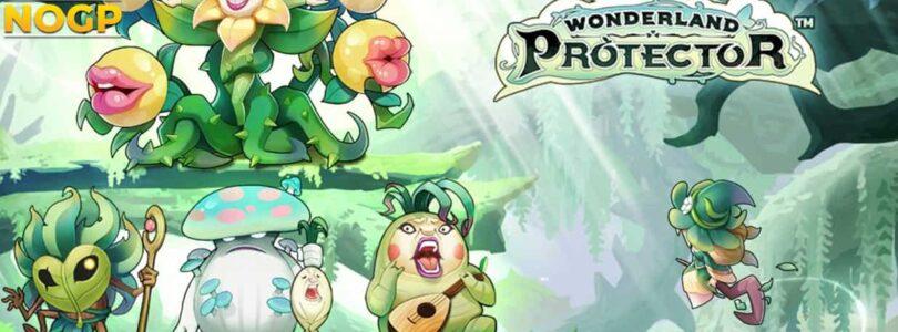 Wonderland Portector video slot logo