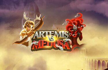 Artemis vs Medusa video slot logo