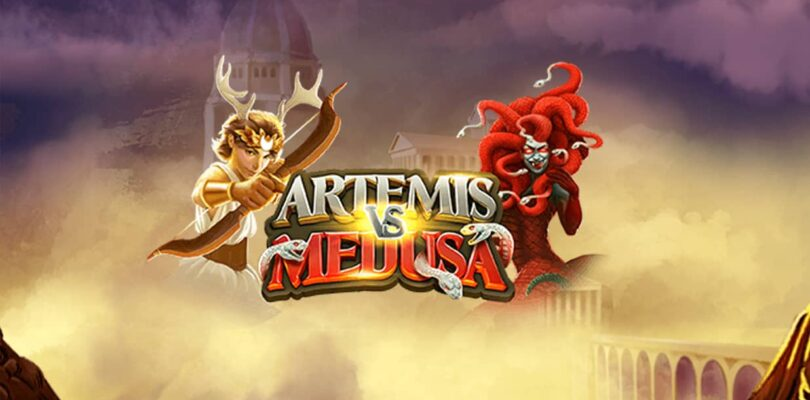 Artemis vs Medusa video slot logo