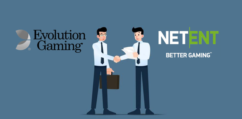 Deal Evolution Gaming &  NetEnt