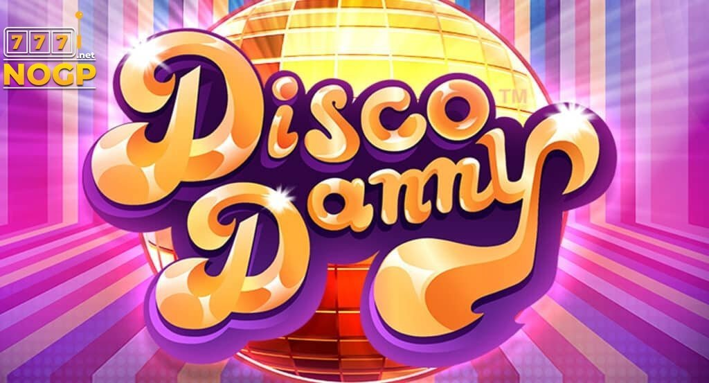 Disco Danny video slot logo