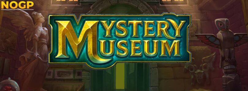 Mystery Museum slot logo