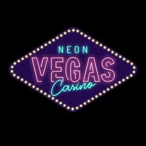 Neon Vegas Casino logo round