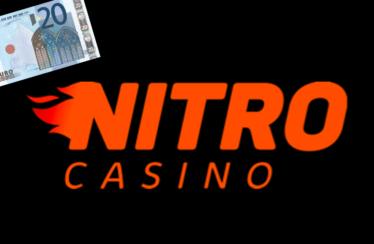 Stort €20,- en krijg €20,- terug bij Nitro Casino via NOGP.