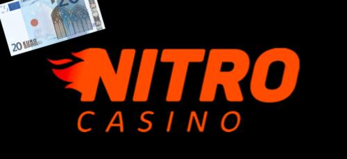 LAATSTE KANS! Stort €20,- en krijg €20,- terug bij Nitro Casino via NOGP.