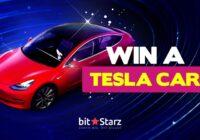 Win a Tesla Car Model 3 at Bitstarz Casino