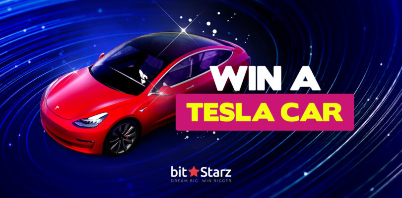 Win a Tesla Car Model 3 at Bitstarz Casino