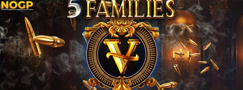 5 Families video slot logo NOGP