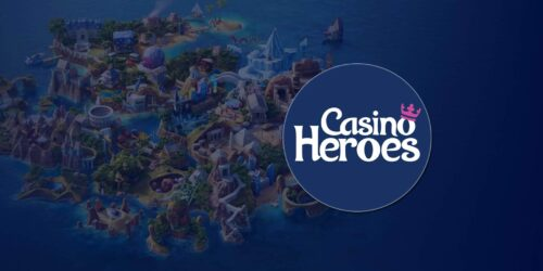 Get Up to $/€50 on Sign Up at Casino Heroes