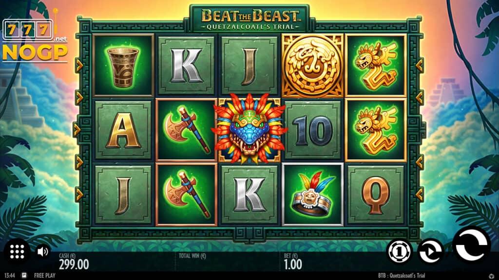 Beat the Beast: Quetzalcoatl's Trail slot.