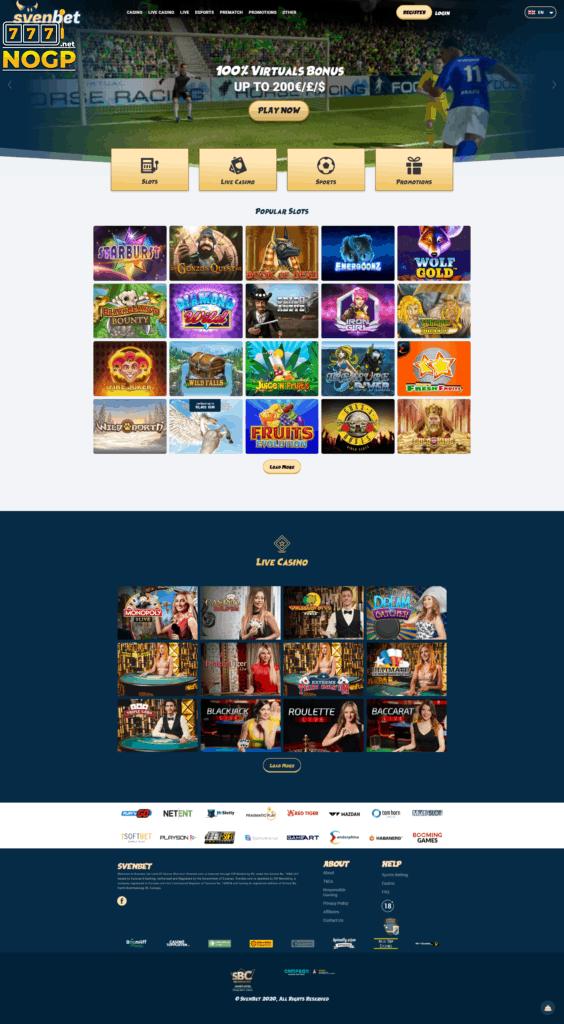 Svenbet's homepage