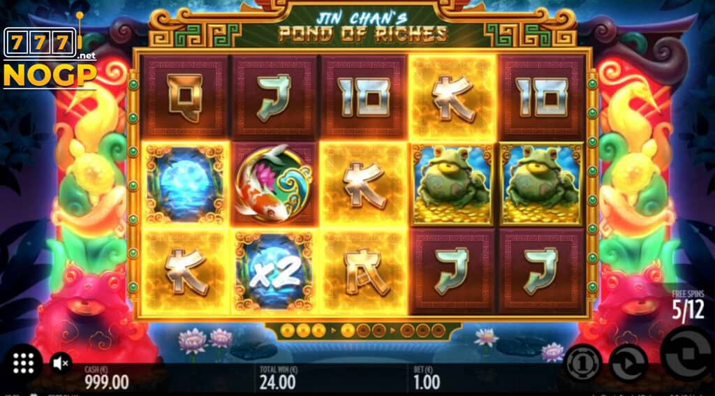 JIn Chan's Pond of Riches - Gratis spins