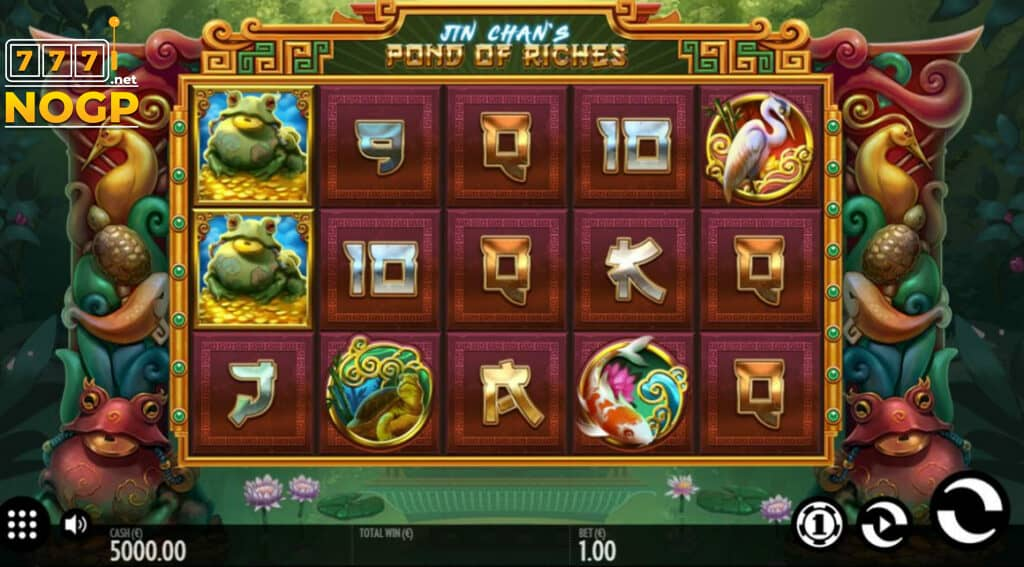 Thunderkick's Jin Chan's Pond of Riches slot