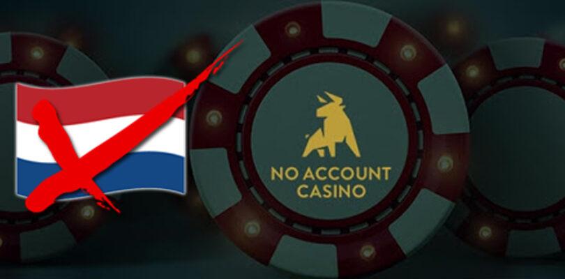 No Account Casino stopt op de NL markt: vergelijkbare casinos.