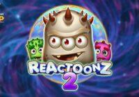 Reactoonz 2 slot logo