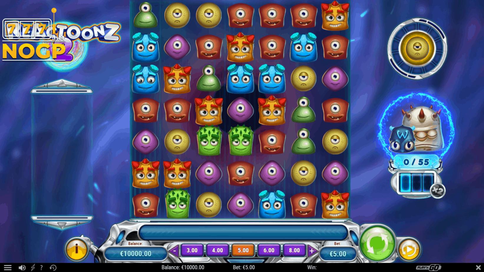 Play'n GO's Reactoonz 2 slot