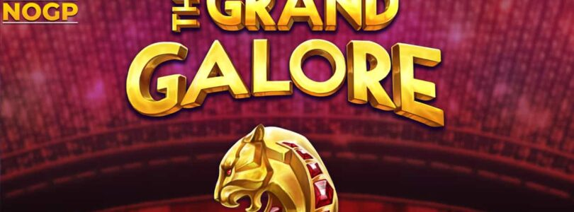 The Grand Galore video slot logo