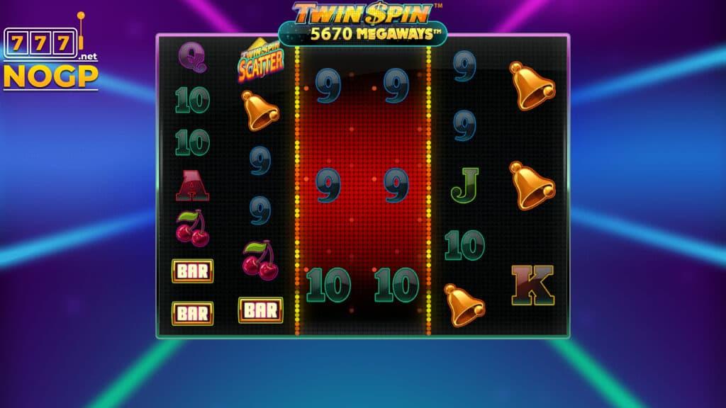 Twin Spin Megaways video slot screenshot
