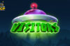 Visitors video slot logo