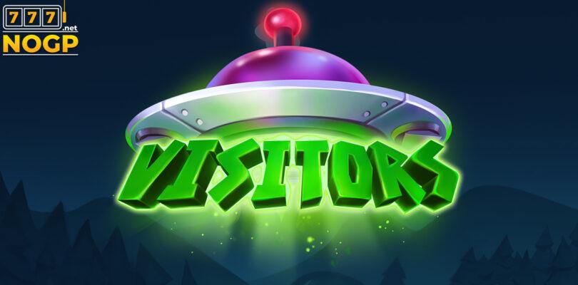 Visitors video slot logo