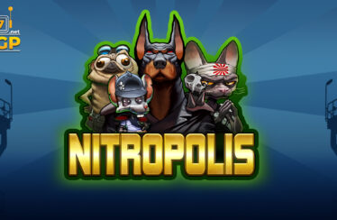 Nitropolis video slot logo