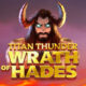 Titan Thunder Wrath of Hades video slot logo