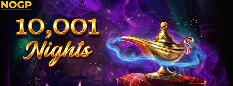 10,001 Nights video slot logo
