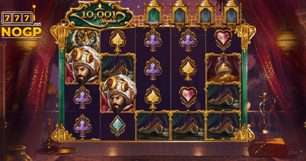 10001 Nights video slot screenshot