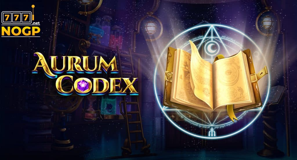 Aurum Codex video slot logo