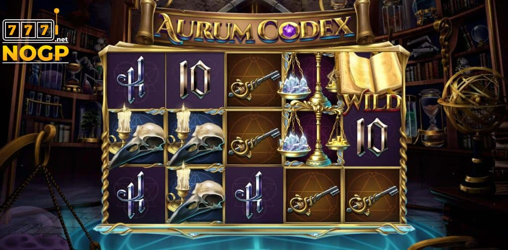 Aurum Codex video slot screenshot